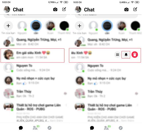 Hình ảnh optimized trte của Tắt âm thanh thông báo tin nhắn, cuộc gọi từ Facebook và Messenger tại HieuMobile