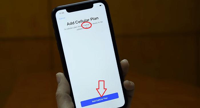 Hình ảnh optimized vi4l của Hướng dẫn kích hoạt eSIM của nhà mạng Viettel cho iPhone tại HieuMobile