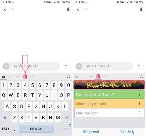Hình ảnh optimized wqjo của Gửi lời chúc, tin nhắn xếp hình chào đón năm mới 2019 bằng Laban Key tại HieuMobile