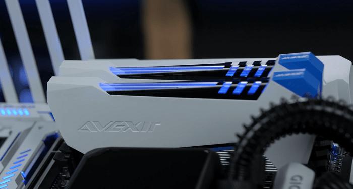 RAM: 2x16GB 3000 Mhz AVEXIR cho cấu hình máy tính chuyên làm đồ họa
