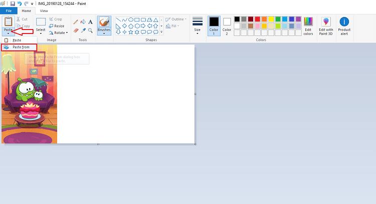 Hình ảnh optimized 7izy của Ghép nhiều ảnh thành 1 ảnh trên máy tính bằng phần mềm Paint cực dễ tại HieuMobile