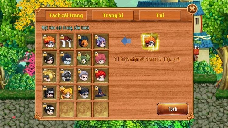 Hình ảnh optimized 8ixw của Những thông tin cơ bản về Cải Trang trong game Làng Lá Phiêu Lưu Ký tại HieuMobile