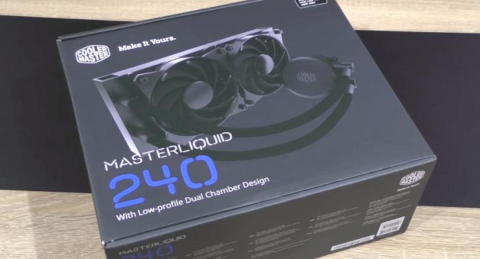 Tản nhiệt nước: CPU Cooler Master MasterLiquid lite 240