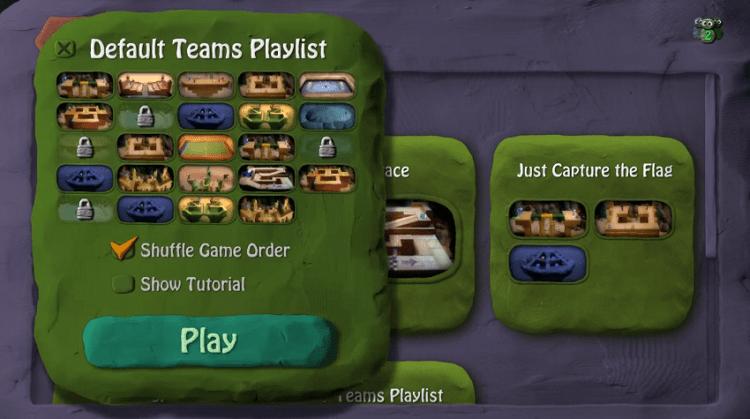 Chế độ chơi và bản đồ của game BombSquad phải nói là rất đa dạng
