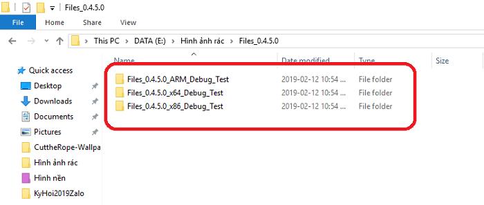 Hình ảnh optimized dx2z của Dùng thử công cụ quản lý file Fluent Design, có Dark Mode cho Windows 10 tại HieuMobile