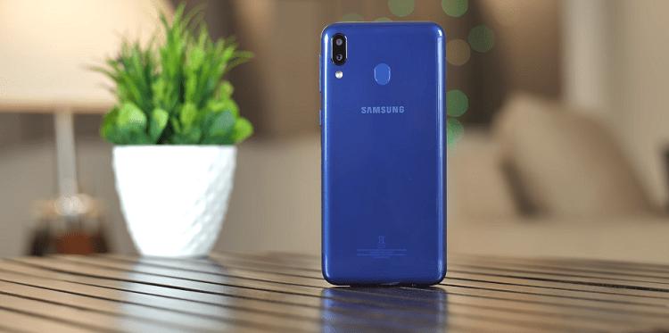 Hình ảnh optimized esuq của Samsung Galaxy M20: Màn hình giọt nước, chip Exynos 7904, pin 5000mAh tại HieuMobile