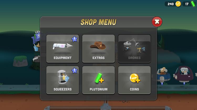 Trong cửa hàng bán khá nhiều vật phẩm, vũ khí giúp nhân vật của bạn độc đáo hơn, săn bắt zombie hiệu quả hơn
