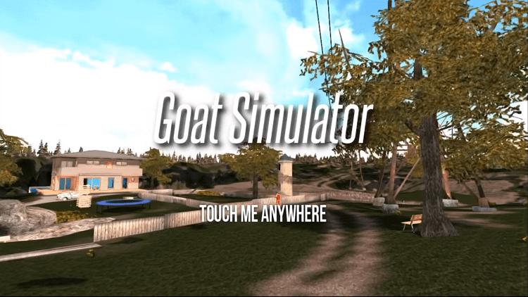 Trò chơi bắt đầu với cảnh vật là một trang trại nuôi dê