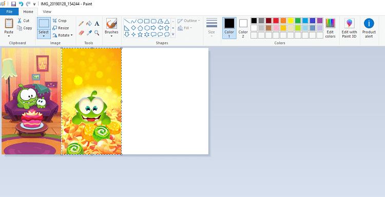 Hình ảnh optimized ijbi của Ghép nhiều ảnh thành 1 ảnh trên máy tính bằng phần mềm Paint cực dễ tại HieuMobile