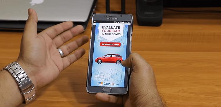Đang sử dụng điện thoại tự nhiên quảng cáo xuất hiện che hết một phần hoặc toàn bộ màn hình gây ức chế