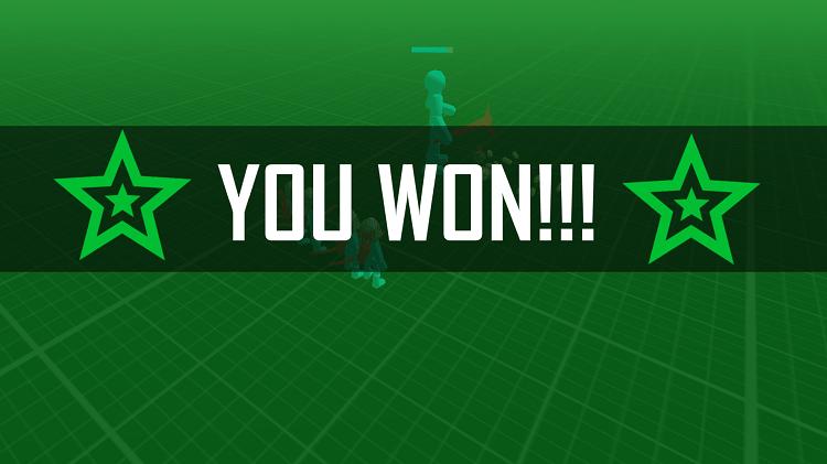 Bạn sẽ giành chiến thắng nếu phe bạn còn lại những chiến binh sống sót sau trận chiến