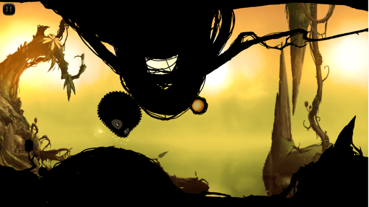 Hình ảnh optimized l3xp của Tải game BadLand: Đưa sinh vật lạ màu đen vượt khỏi khu rừng cạm bẫy tại HieuMobile
