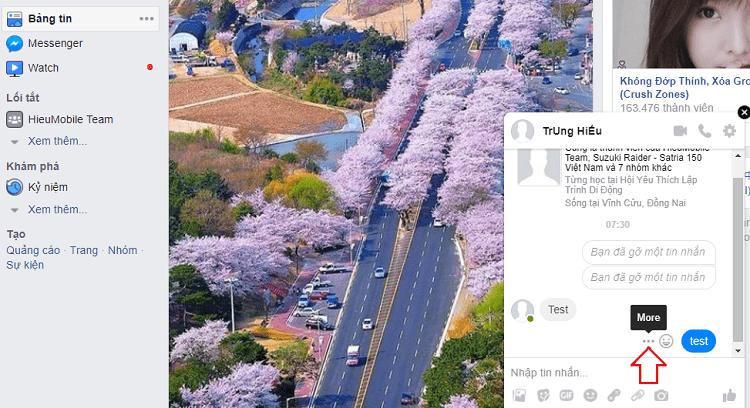 Hình ảnh optimized ockp của Hướng dẫn gỡ bỏ, thu hồi tin nhắn đã gửi trên Facebook và Messenger tại HieuMobile