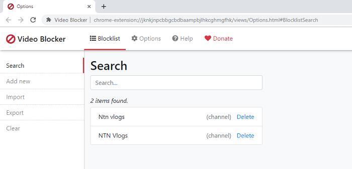 Hình ảnh optimized pihc của Tải Video Blocker: Chặn video và kênh bất kỳ trên Youtube bằng từ khóa tại HieuMobile