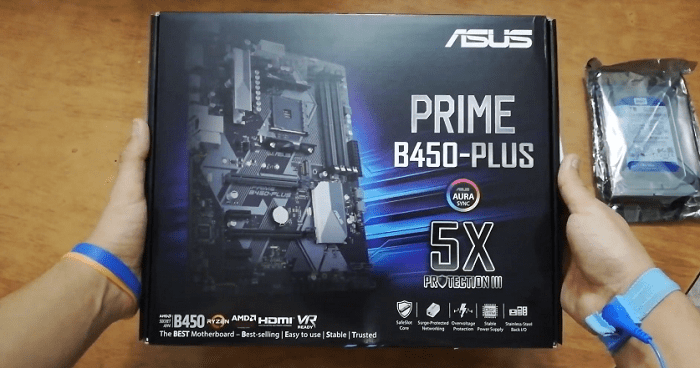 MAinboard: Asus Prime B450 Plus