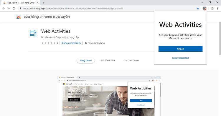 Hình ảnh optimized v4bm của Tải Web Activities: Đồng bộ lịch sử duyệt web Chrome trên lên timeline thiết bị khác tại HieuMobile