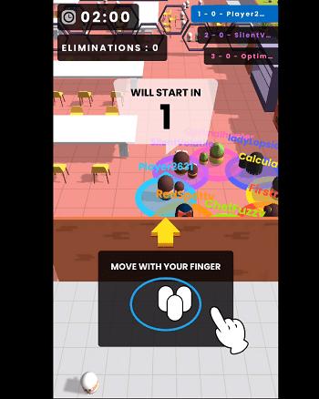 Vừa vào màn chơi đầu tiên bạn sẽ được hướng dẫn chơi Popular Wars
