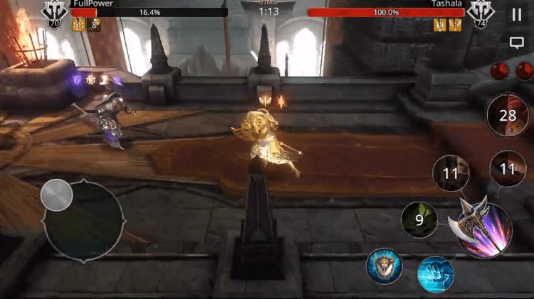 Thần Berserker là vị thần mới ra mắt với các hiệu ứng kỹ năng siêu mạnh