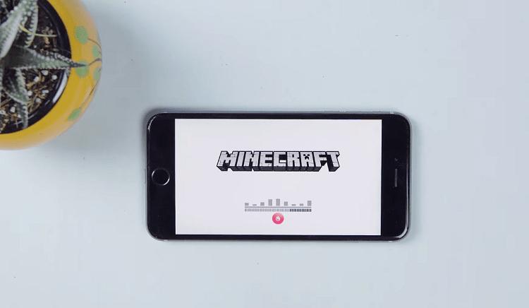 Chơi game Minecraft miễn phí trên iPhone iPad