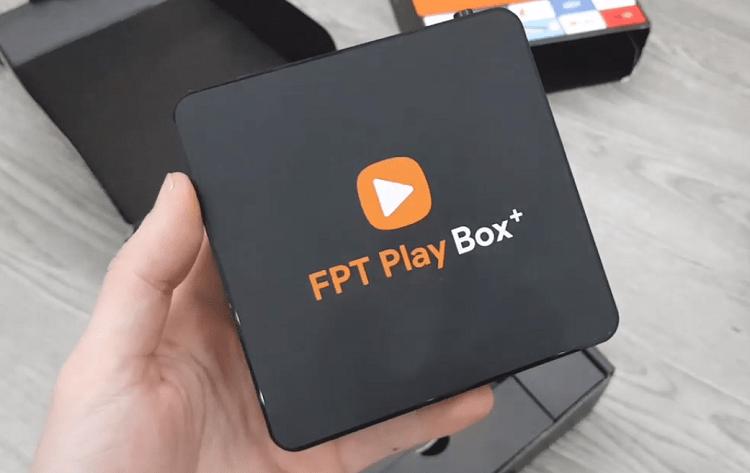 Logo vỏ hộp FPT Play Box 2019 không khác gì 2018 ngoài có thêm dấu cộng