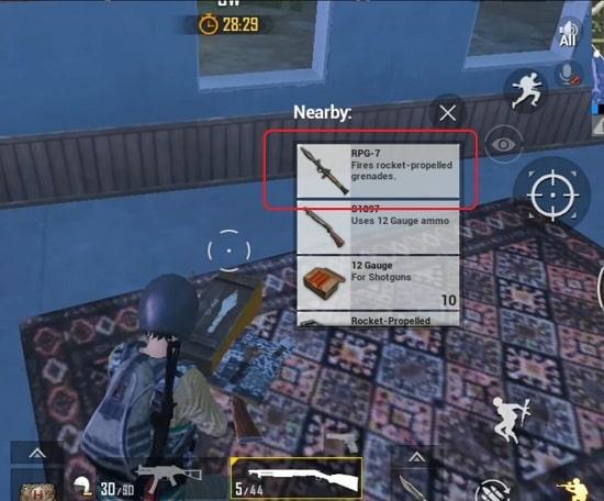 Súng chống tăng RPG-7 cũng xuất hiện trong phiên bản mới của PUBG Mobile