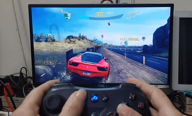Thử chơi Asphalt 9 của GameLoft bằng tay cầm console trên FPT Play Box 2019