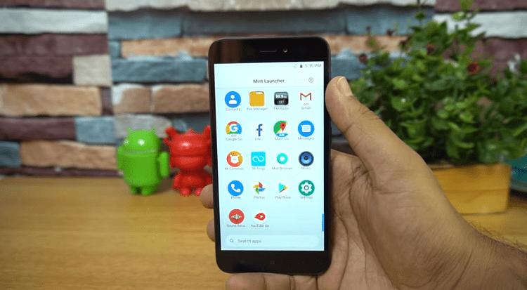 Các ứng dụng Lite có sẵn của Android Go sẽ gánh bớt một phần chịu đựng về cấu hình của Redmi Go