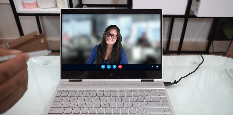Làm mờ cảnh vật xung quanh khi gọi video bằng Skype
