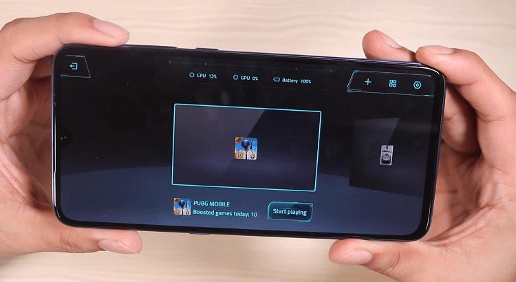 Giao diện Tăng tốc trò chơi 2.0 (Game Turbo V2) trên smartphone Xiaomi Mi 9