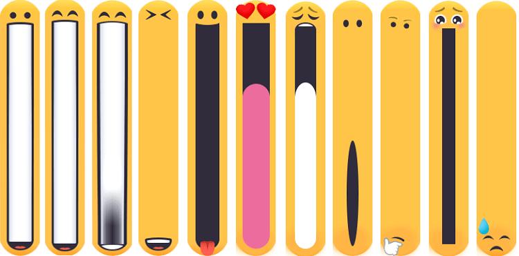 Một số emoji miệng dài ngộ nghĩnh đang làm Facebook xôn xao