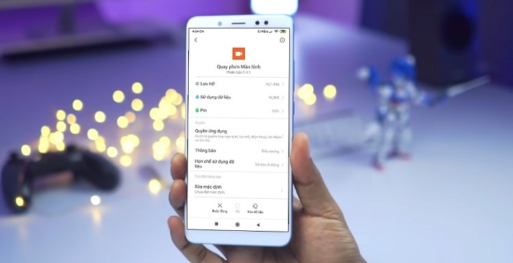 Các dòng smartphone Xiaomi giờ đây đã có thể quay video màn hình ghi âm thanh hệ thống