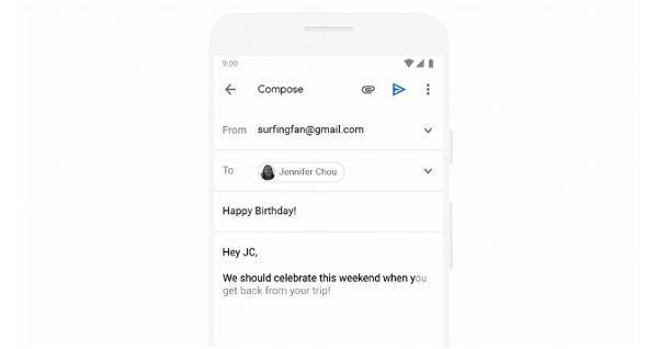 Smart Compose: Soạn thảo thông minh của Gmail